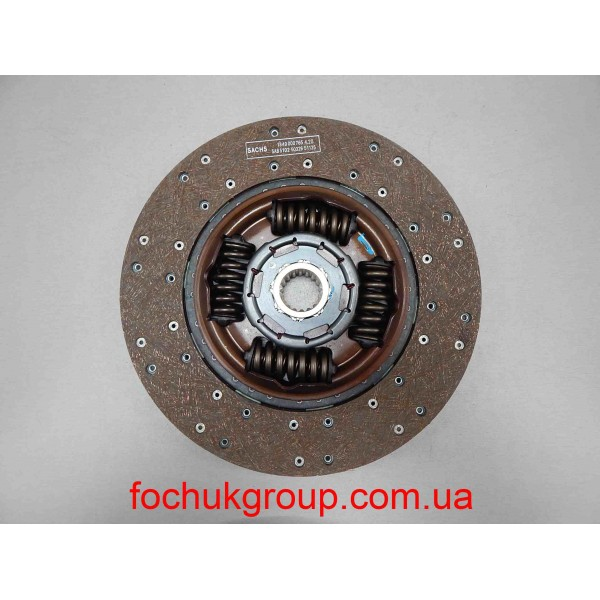 Диск зчеплення Fi362 Mercedes Vario, Ecopower, Atego, OM904, SACHS
