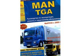Інструкція по ремонту MAN: 8.150W, 8.153,8.163,8.224, LE8.180, L2000, TGL, TGA